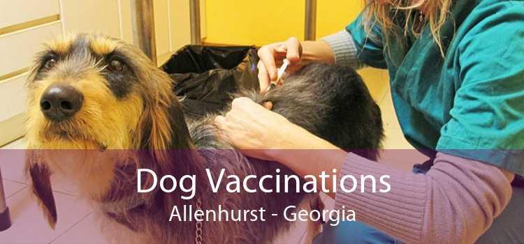 Dog Vaccinations Allenhurst - Georgia