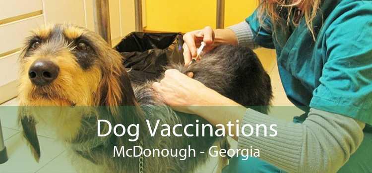 Dog Vaccinations McDonough - Georgia